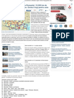 Asa Ar Trebui Sa Arate Harta Romaniei_ 10.000 Km de Autostrazi Si Drumuri Expres. Exista 9 Legi Pentru Asta