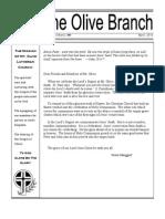 April, 2013 Olive Branch