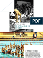 Swim in College Parent Guide