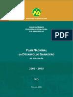 Plan Desarrollo Ganadero