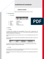 Protocolo Permanit Madera