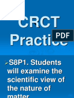 Physical Science CRCT Review