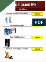 Preparación IPN - Información - Convocatoria, guía, cursos
