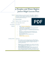 Indigenous Peoples and Water RightsJunior High Learning Guide