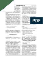 RAD Nº 006-2008-APNDIR, Modifican la Res. Nº 010-2007-APN_DIR  sobre seguridad portuaria y obtención del certificado de seguridad en instalaciones portuarias.