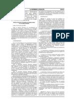 RAD Nº 010-2008 APN-DIR,  lineamientos y estándares mínimos de seguridad empresas proveedoras de servicios de transferencia de carga pesada.