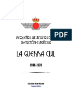 Pequeñas Historias de la Aviación  Española. La Guerra Civil 1935-1939