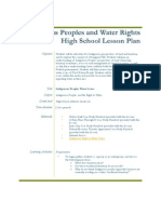 Indigenous Peoples and Water Rights