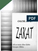 Calcul Zakat