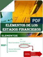 Clase 03.- Elementos de Los Estados Financieros