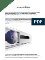 Tipos de DVD y sus características