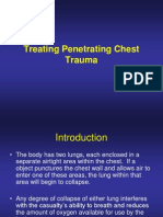 Lesson 4 Treating Penetrating Chest Trauma