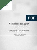 A Federico García Lorca, Vicente Huidobro
