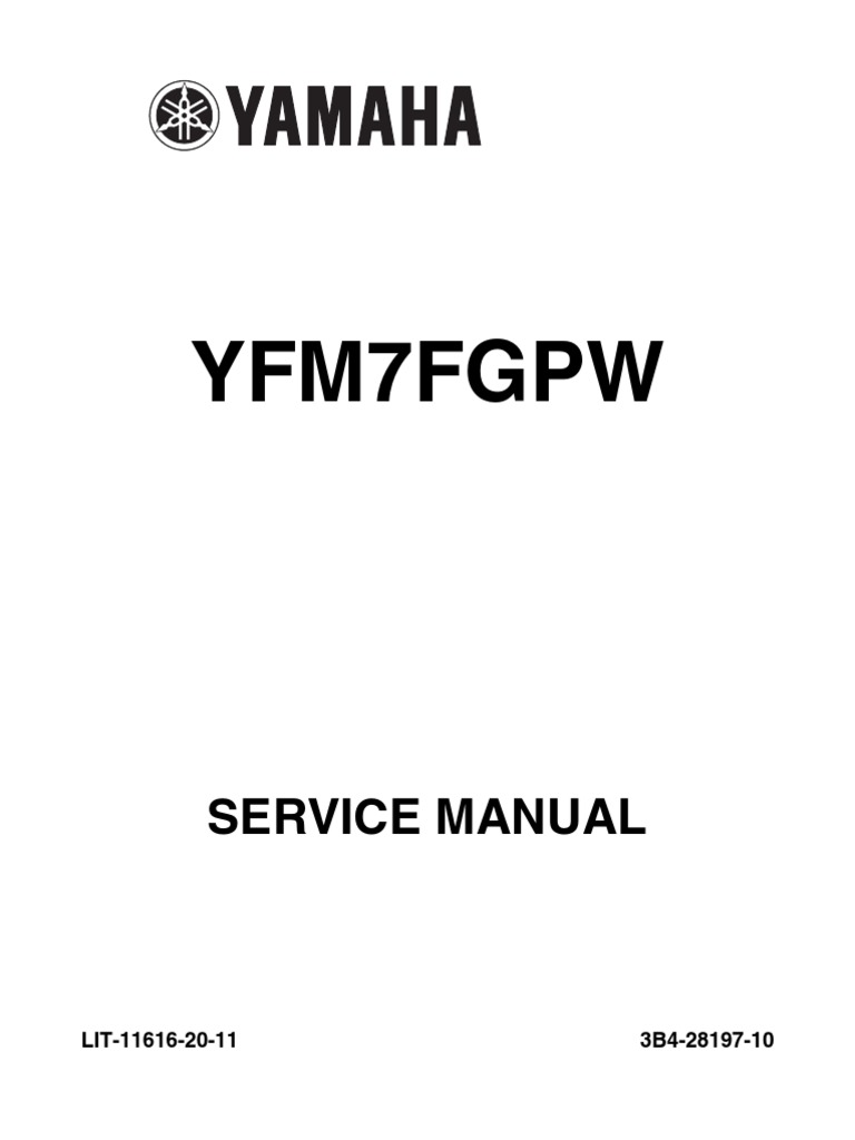 07 08 Grizzly 700 Service Manual | Fuel Injection | Throttle