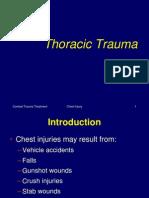 PPT Thoracic Trauma