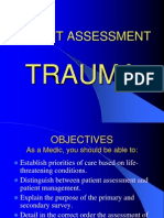 PATIENT ASSESSMENT TRAUMA