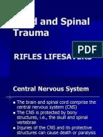 RLS Head and Spinal Trauma