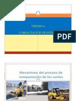 UNIDAD 5 COMPACTACIÓN DE SUELOS