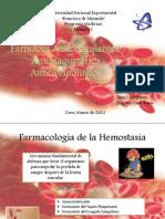 Farmacos Anticoagulantes, Antihipertensivos, Antifibrinoliticos
