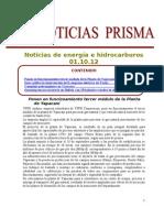 Noticias de Energa e Hidrocarburos 01.10.2012