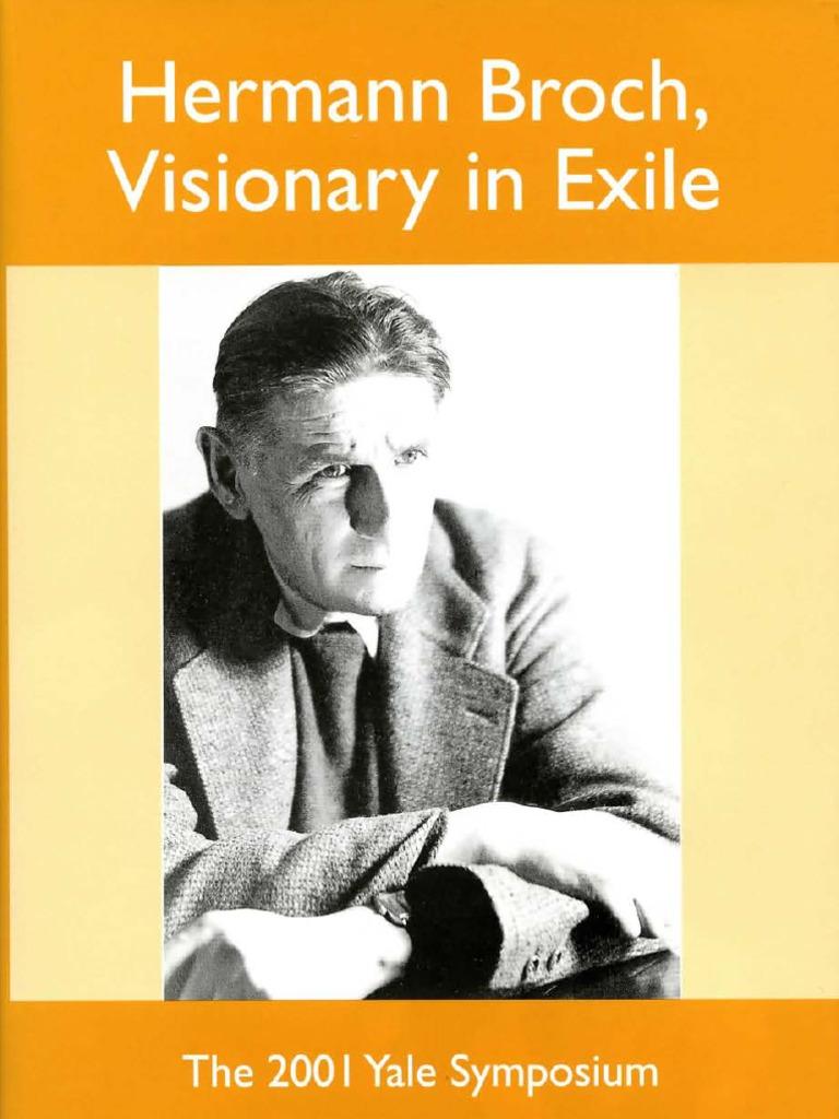 Hermann BROCH.pdf | Novels | Philosophical Science