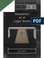 Desolación en el lugar Santo