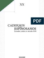 Caderno Espinosano - M-Ponty