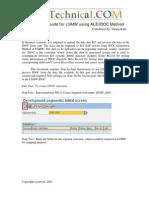 SAP - Using IDOC Method in LSMW