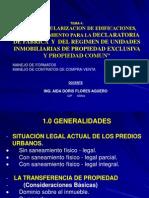 Curso Taller Declaratoria Fabrica 2011 -