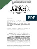 Senate Bill 11-176 as Amended