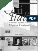 Qui Italia - Quaderno Di Esercitazione