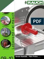 Lebensmittelmaschinen Katalog 2009
