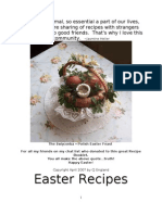 Easter Recipe Booklet