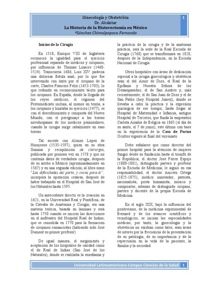 Lujoso Anatomía De La Histerectomía Modelo - Imágenes de Anatomía ...