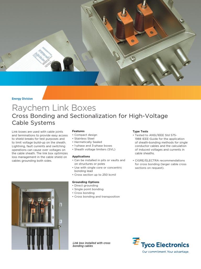Cross Bonding Link | Cable | Insulator (Electricity)