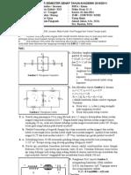 Uas Fisika Dasar II (Kimia)