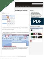 Cara Menulis Rumus Matematika Di Microsoft Word 2007 - 2010 _ Belajar Komputer
