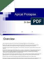 Apical Prolapse-Dr Samera F.AlBasri