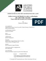 Ardea,laterradeiRutuli,tramitoearcheologia
