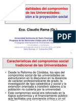 1-8 de La Extension Univesritaria a La Proyeccion Social