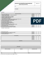 Checklist de Inspeção de Equipamentos - Serra Circular Portátil