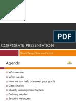 shirsh corporate presentation