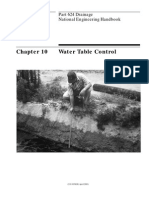 Chapter 10 Water Table Control