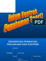 Hukum Bisnis 2008 Hukum Kontrak