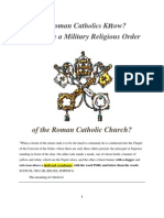 Do RCs Know the Jesuit Order...?