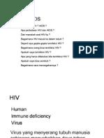 Penyuluhan HIV - AIDS