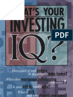 What's Your Investing IQ