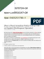 Actualizar Nokia 5130 Al 7.95