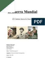 II Guerra Mundial motivos 1ºD