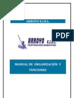 Manual de Organizaciones 2012